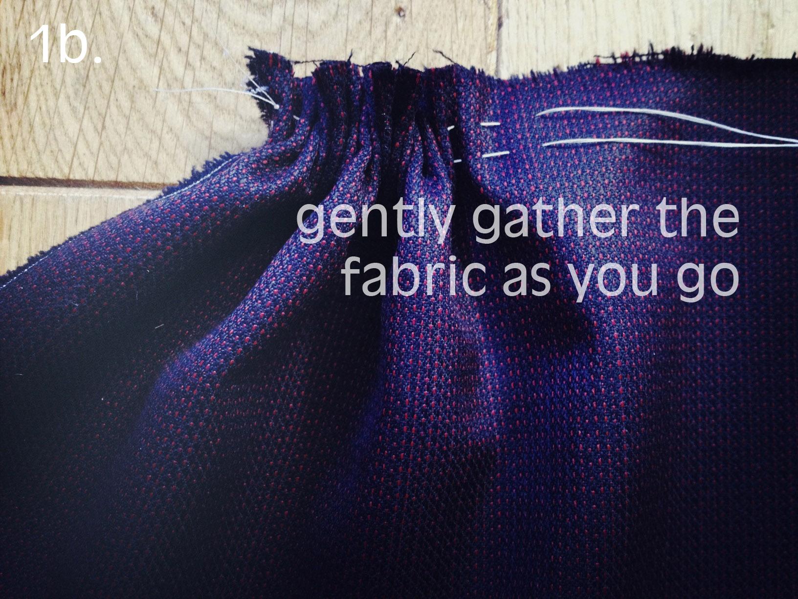 Nerdy Sewing Tips 3 Ways To Gather By Hand London Vintage Machine Threading Guides Stitch Nerd 2