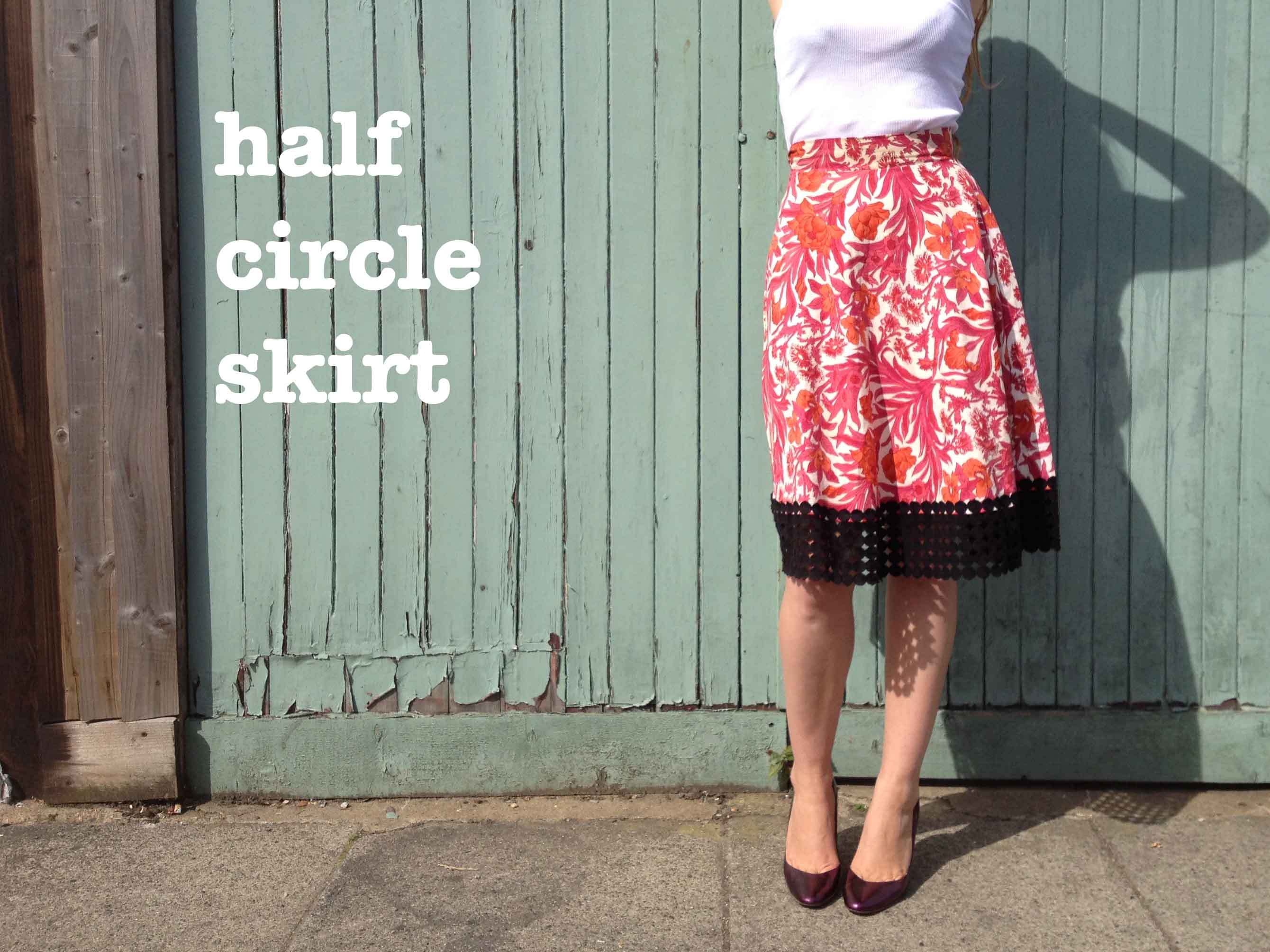 Circle skirt maths - explained! – By Hand London
