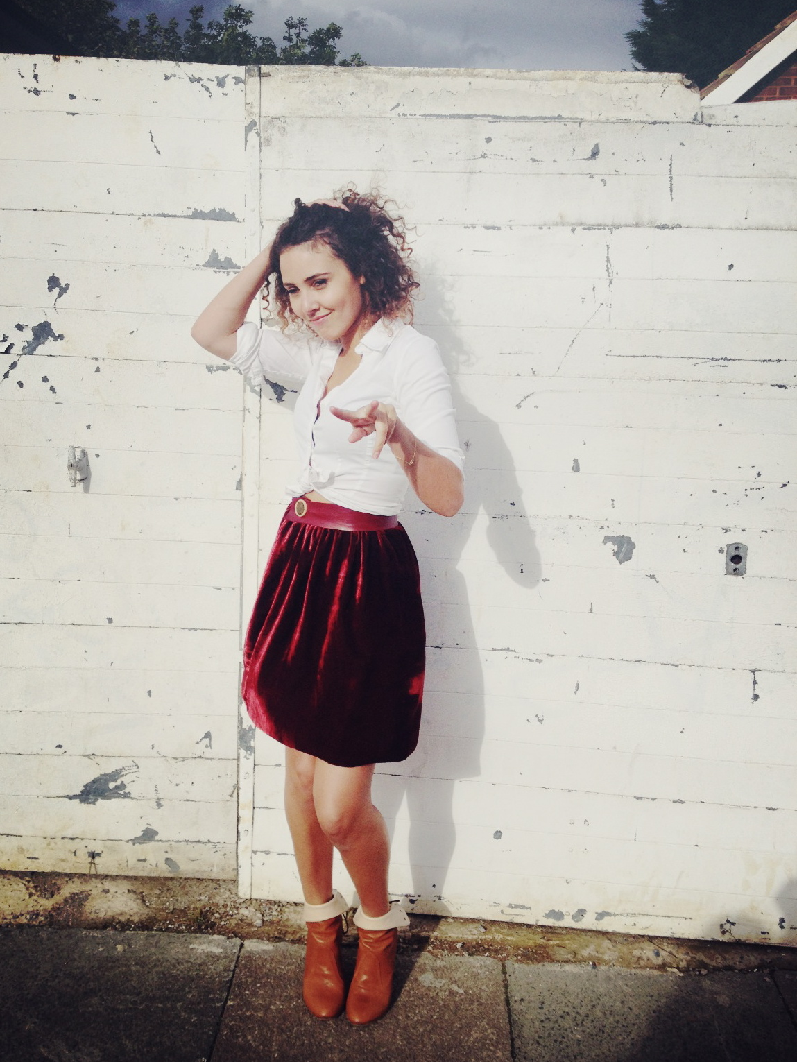 how to sew a gathered skirt � by hand london
