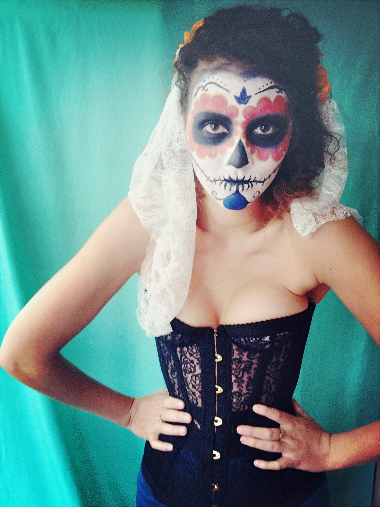 diy day of the dead: part 1 - the face –hand london
