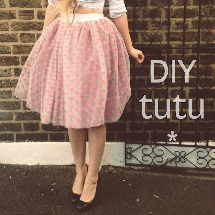 Diy Tutu The Must Make Party Skirt By Hand London