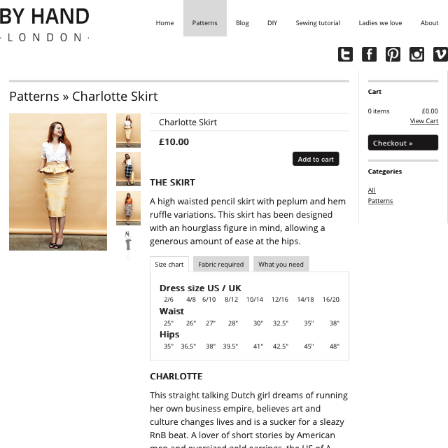 By Hand London is LIVE!!!