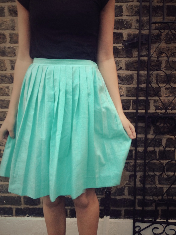 Diy Pleated Skirt By Hand London