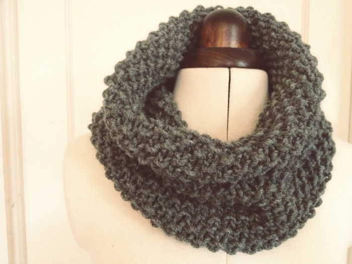 DIY Giftables #1: 2 simple snoods - a free knitting pattern – By