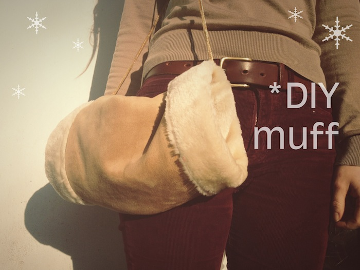 DIY Giftables #2: Hand warmer muff