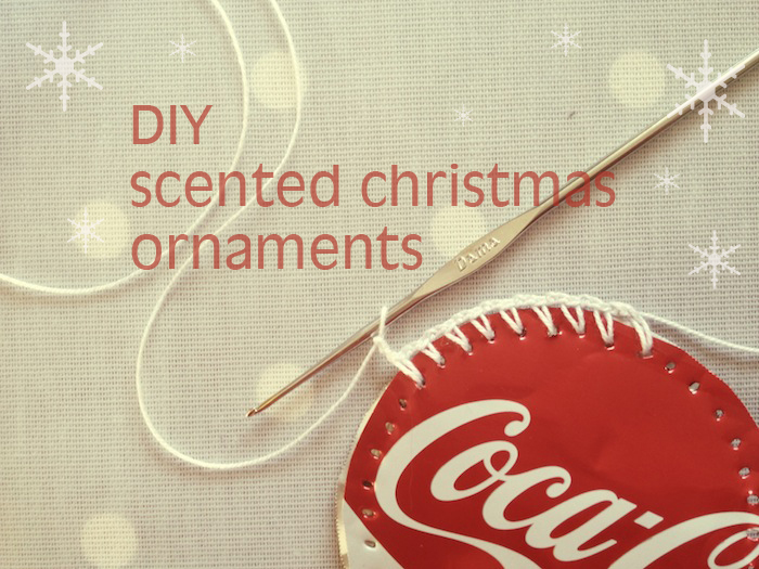 DIY Scented Christmas Tree Ornaments