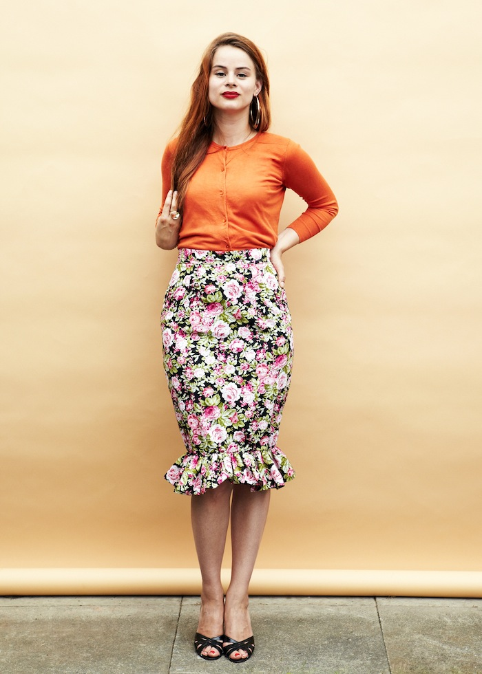 Charlotte skirt sewalong - By Hand London