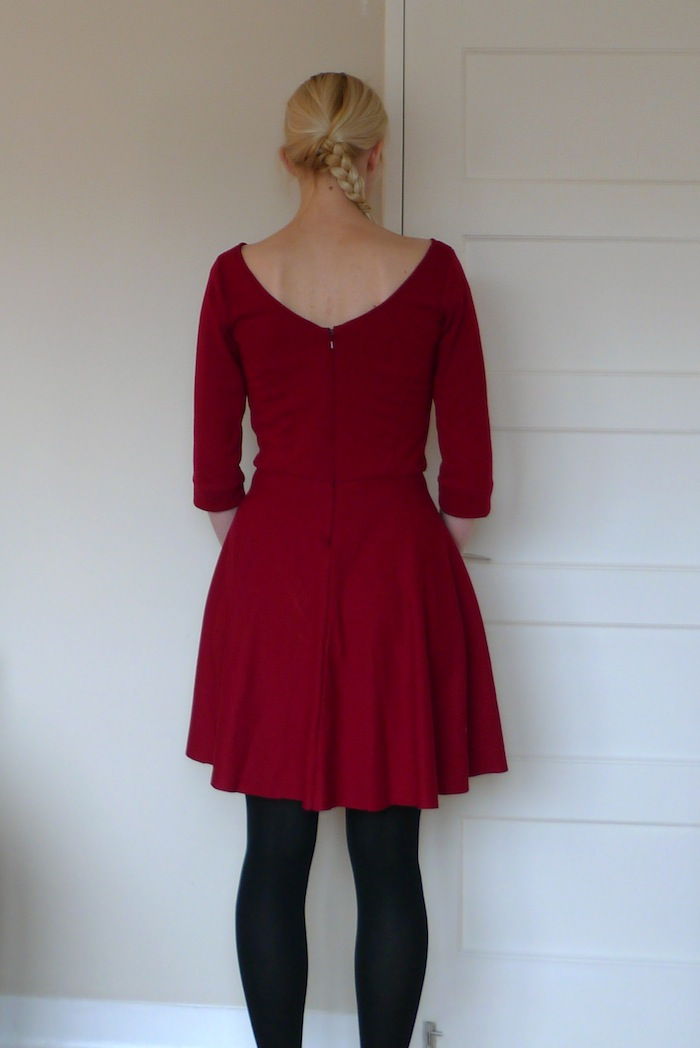 Kathryn Yes I Like That - Elisalex dress sewing pattern - By Hand London