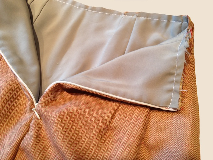 charlotte skirt lining - by hand london