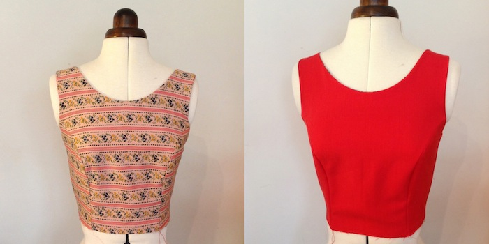 sleeveless bodice - elisalex dress sewalong - by hand london