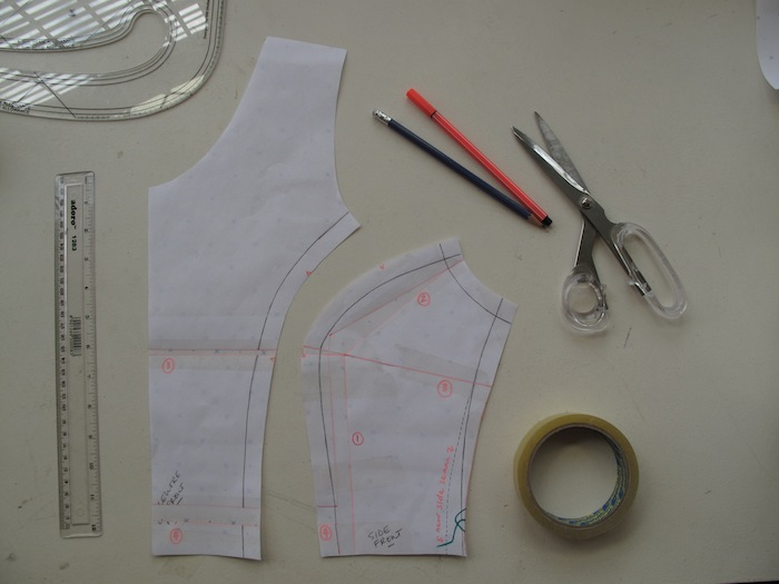 fba - elisalex dress sewalong - by hand london