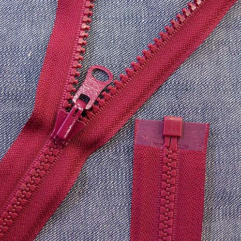 Important info on zippers for the Reversalex!
