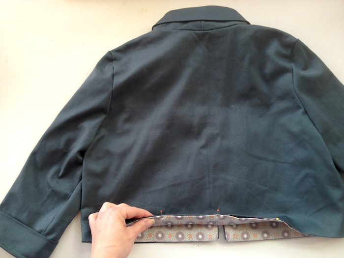 victoria blazer sewalong - by hand london