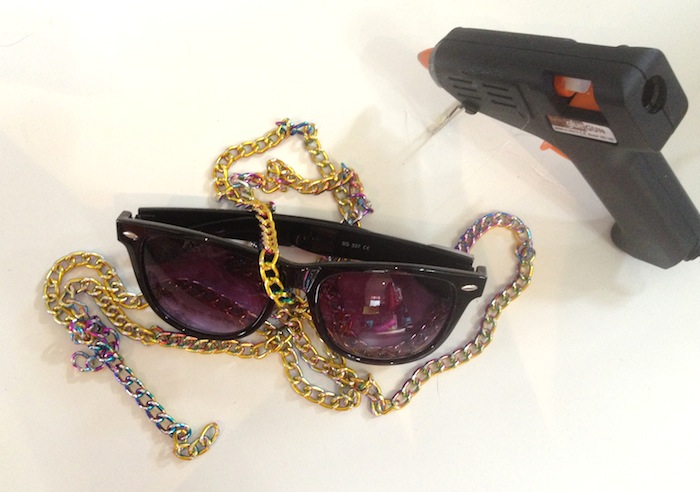 DIY chain glasses - By Hand London