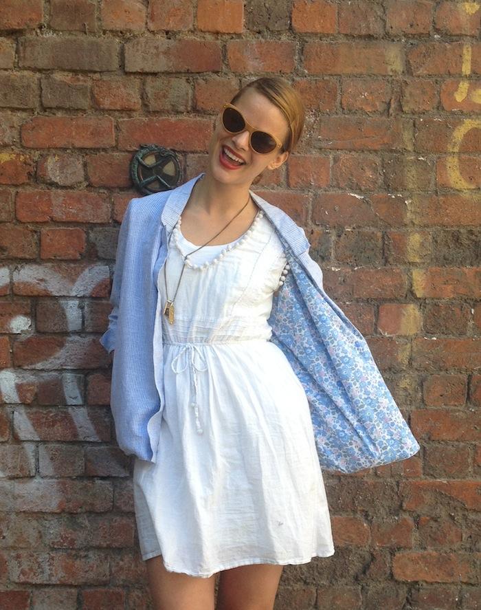 A seriously scrummy Victoria Blazer, all thanks to Sewbox.co.uk!