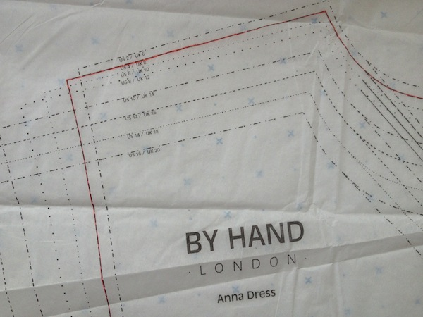 Anna Dress Sewalong - By Hand London