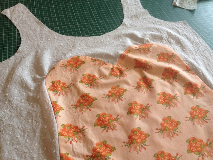 Polly Top - sweetheart neckline adaptation - By Hand London