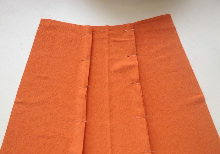 Anna Dress Sewalong - Assembling the skirt - By Hand London