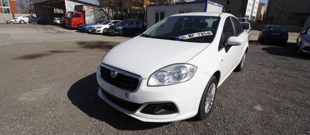 ikinci el araba 2015 Fiat Linea 1.3 Multijet Pop Dizel Manuel 110000 KM