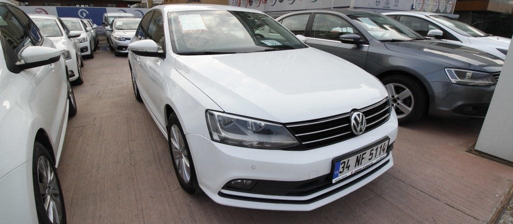 ikinci el araba 2015 Volkswagen Jetta 1.6 TDi Comfortline Dizel Otomatik 176000 KM 0