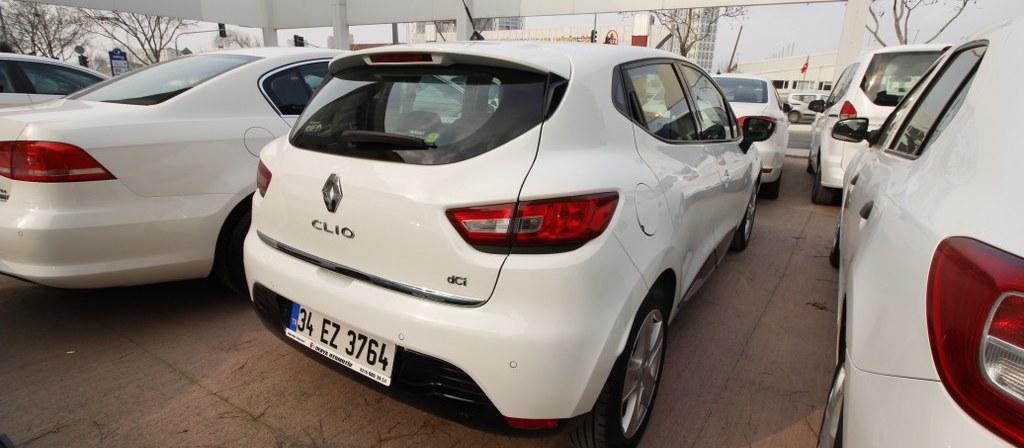 ikinci el araba 2014 Renault Clio 1.5 dCi Icon Dizel Otomatik 93000 KM 2