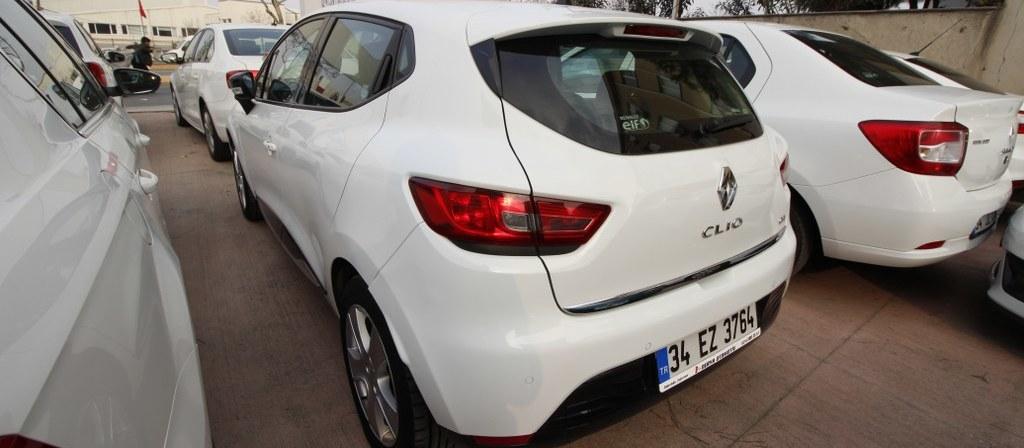 ikinci el araba 2014 Renault Clio 1.5 dCi Icon Dizel Otomatik 93000 KM 4