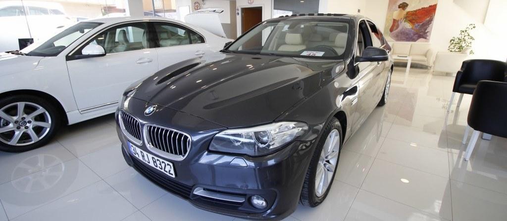 ikinci el araba 2016 BMW 5 Serisi 525d xDrive Executive Dizel Otomatik 122000 KM