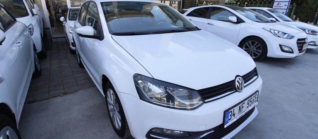 ikinci el araba 2015 Volkswagen Polo 1.4 TDi Comfortline Dizel Otomatik 128400 KM 5