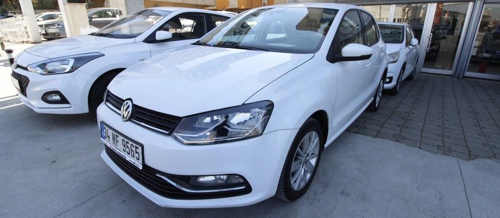 ikinci el araba 2015 Volkswagen Polo 1.4 TDi Comfortline Dizel Otomatik 128400 KM