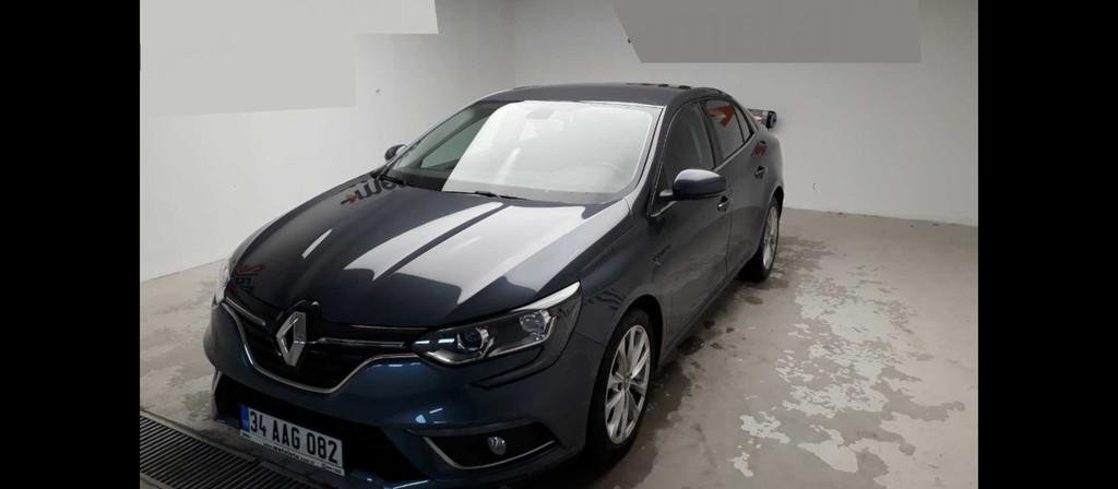 ikinci el araba 2017 Renault Megane 1.5 dCi Touch Dizel Otomatik 27000 KM