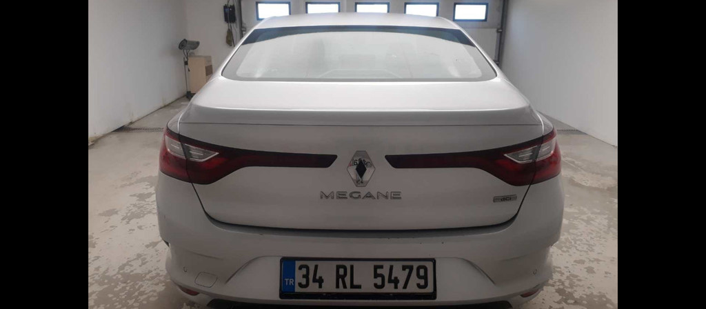 ikinci el araba 2017 Renault Megane 1.5 dCi Touch Dizel Otomatik 48000 KM 1
