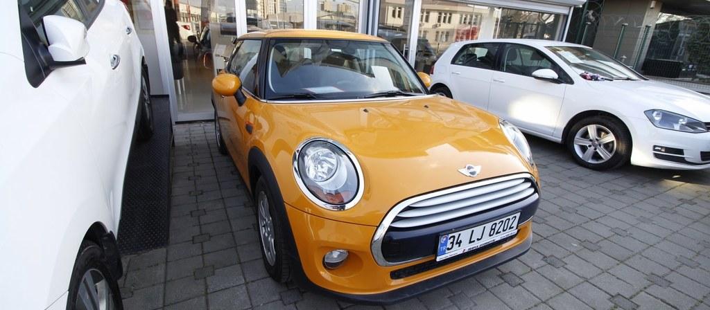 ikinci el araba 2015 Mini Cooper 1.5 Pepper Benzin Otomatik 74000 KM 0