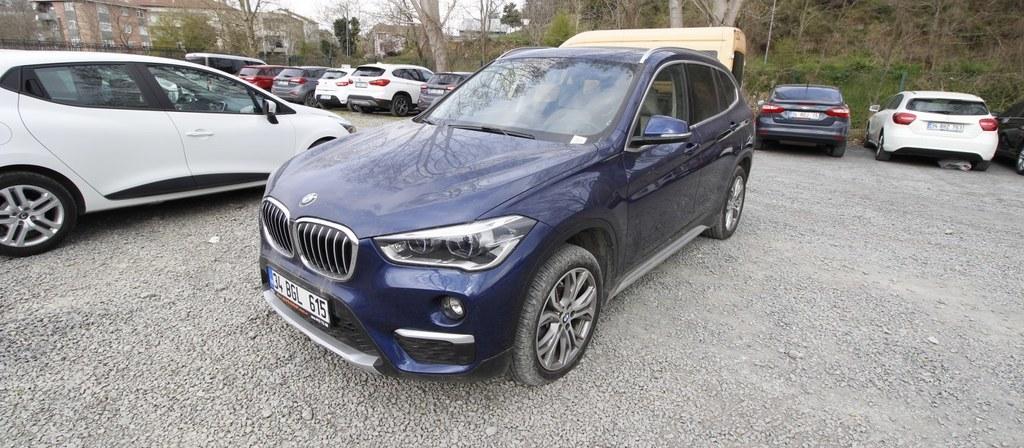 ikinci el araba 2018 BMW X1 16d sDrive X Line Dizel Otomatik 9800 KM