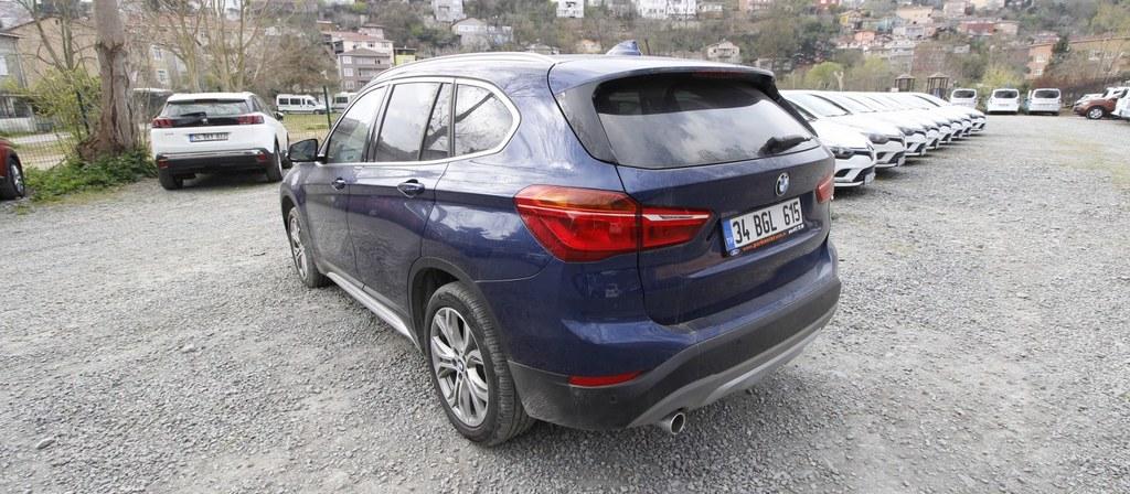 ikinci el araba 2018 BMW X1 16d sDrive X Line Dizel Otomatik 9800 KM 3