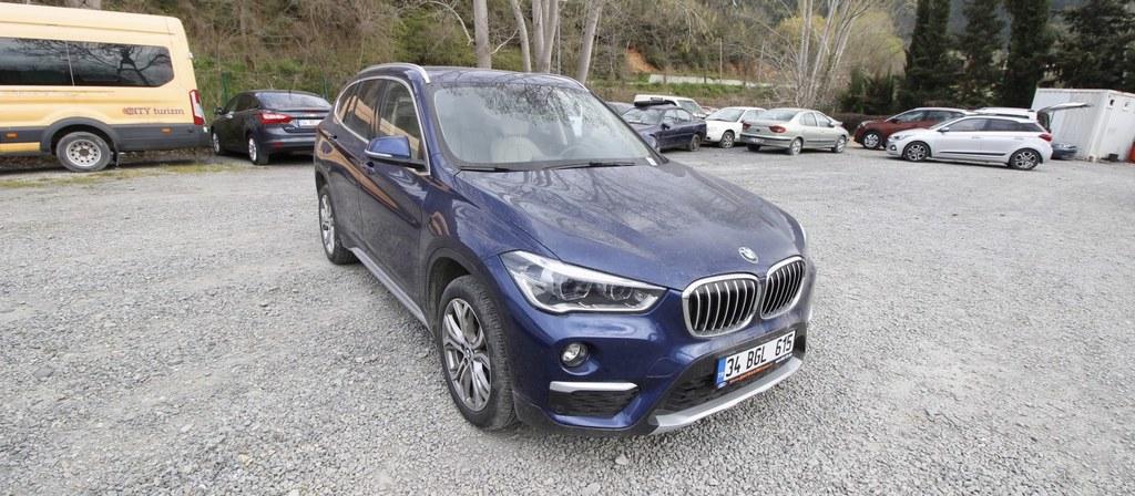 ikinci el araba 2018 BMW X1 16d sDrive X Line Dizel Otomatik 9800 KM 1