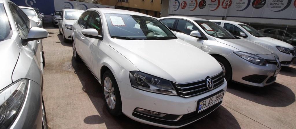 ikinci el araba 2014 Volkswagen Passat 1.6 TDi BlueMotion Trendline Dizel Otomatik 135000 KM 5