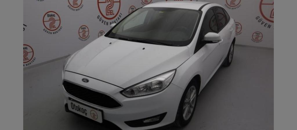 ikinci el araba 2017 Ford Focus 1.6 TDCi Trend X Dizel Manuel 44250 KM