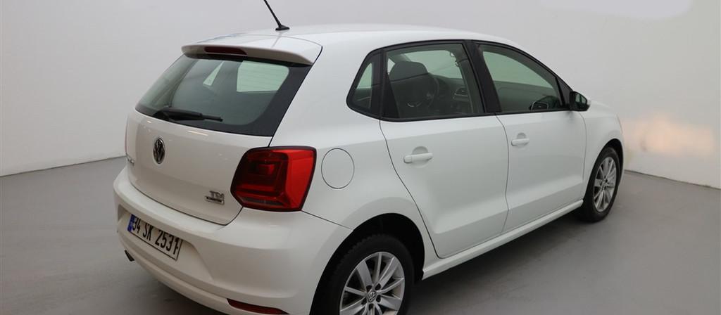 ikinci el araba 2016 Volkswagen Polo 1.4 TDi Comfortline Dizel Otomatik 75000 KM 9