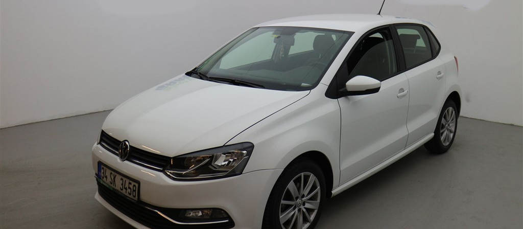 ikinci el araba 2017 Volkswagen Polo 1.4 TDi Comfortline Dizel Otomatik 43700 KM