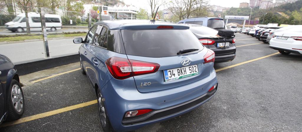 ikinci el araba 2018 Hyundai i20 1.4 MPI Elite Benzin Otomatik 22870 KM 0