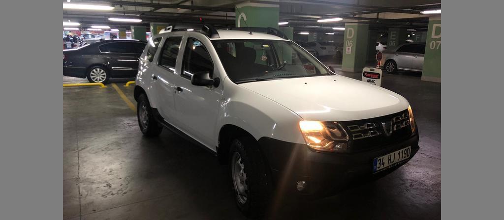 ikinci el araba 2017 Dacia Duster 1.5 dCi Ambiance Dizel Manuel 116000 KM