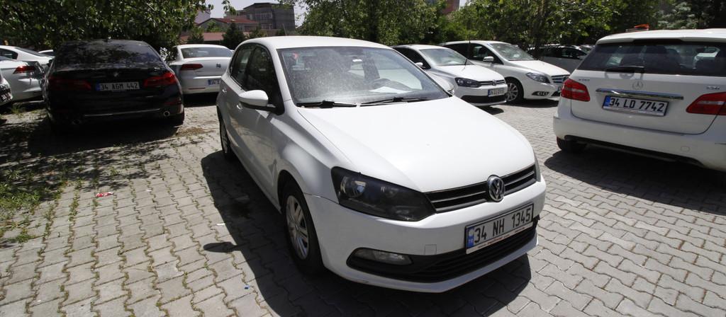 ikinci el araba 2015 Volkswagen Polo 1.4 TDi Trendline Dizel Manuel 172000 KM 0