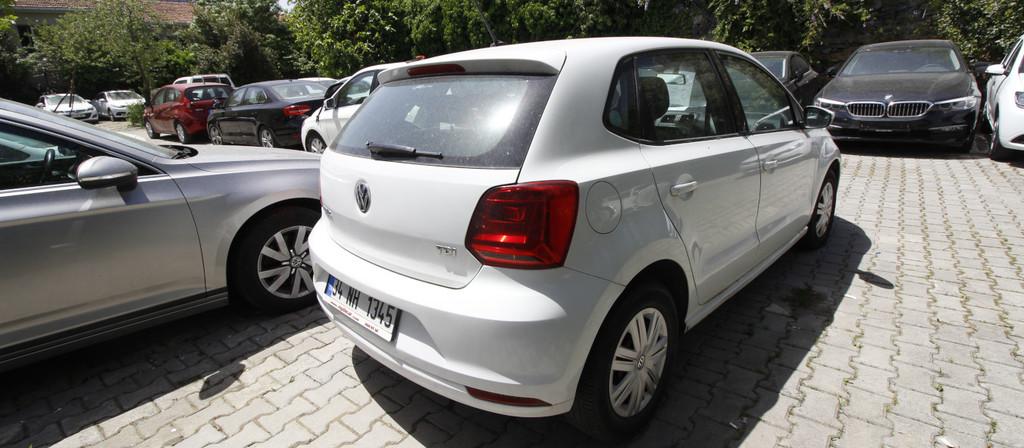 ikinci el araba 2015 Volkswagen Polo 1.4 TDi Trendline Dizel Manuel 172000 KM 1
