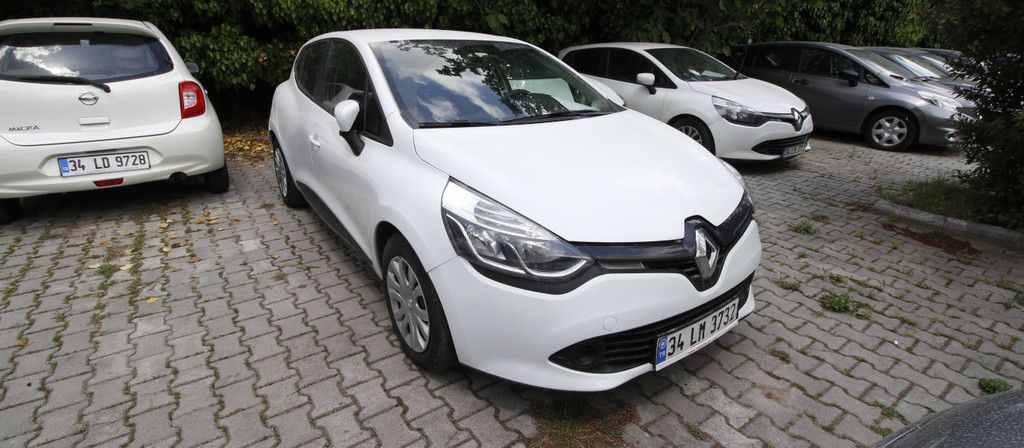 ikinci el araba 2014 Renault Clio 1.5 dCi Joy Dizel Manuel 219000 KM 1