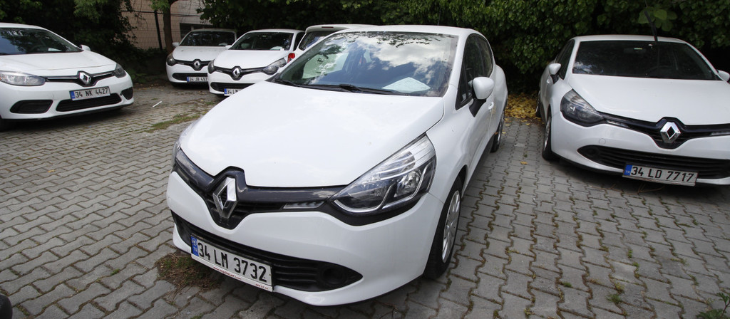 ikinci el araba 2014 Renault Clio 1.5 dCi Joy Dizel Manuel 219000 KM