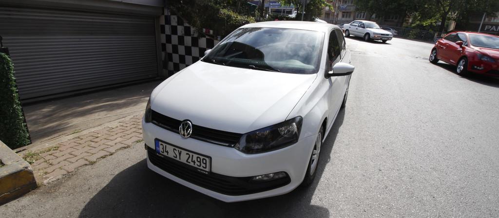 ikinci el araba 2017 Volkswagen Polo 1.4 TDi Trendline Dizel Manuel 108000 KM