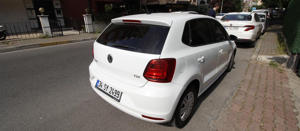 ikinci el araba 2017 Volkswagen Polo 1.4 TDi Trendline Dizel Manuel 108000 KM 2