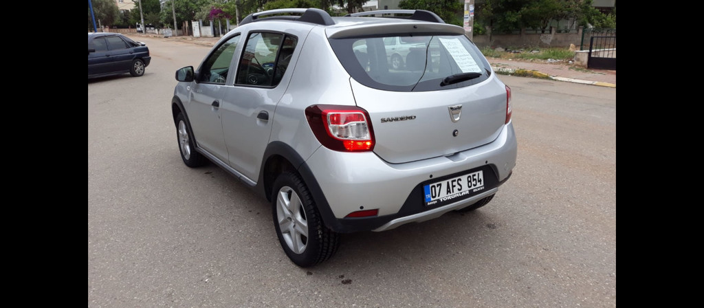 ikinci el araba 2016 Dacia Sandero 1.5 dCi Stepway Dizel Manuel 55250 KM 2
