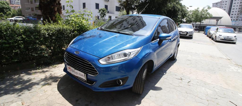 ikinci el araba 2014 Ford Fiesta 1.0 GTDi Titanium Benzin Otomatik 116000 KM