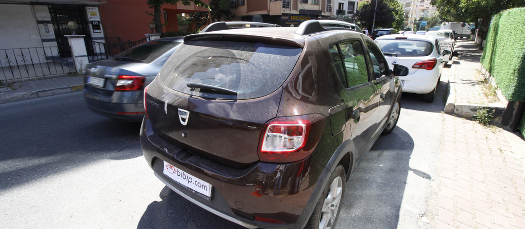 ikinci el araba 2016 Dacia Sandero 0.9 Turbo Stepway Benzin Otomatik 50200 KM 0